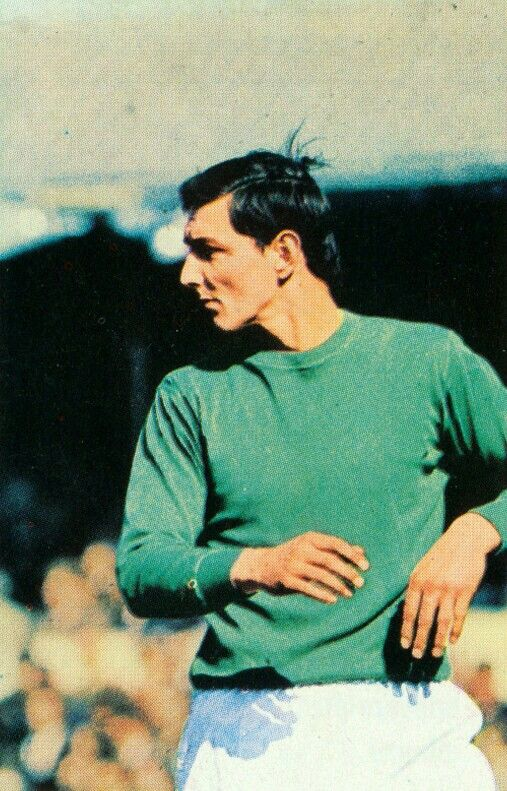 Ipswich Town goalkeeper David Best in 1968.