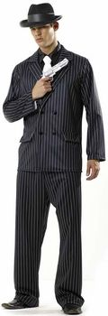 adult mafia costume #MensCostume #HalloweenCostume #Halloween2014