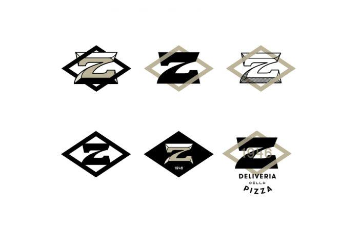 Zeppe restaurant branding