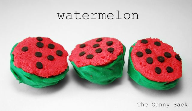 Mid – Week Munchies: Watermelon Cake Balls {National Watermelon Day}