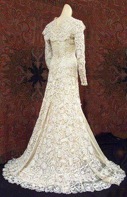 vestido de noiva de croche 5