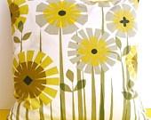 Original Iconic Vintage Heals Cushion Pillow 60s 70s Flowers Scandi style pop art