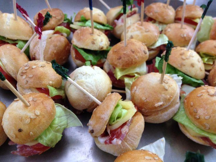 Finger Food Mini Hamburger