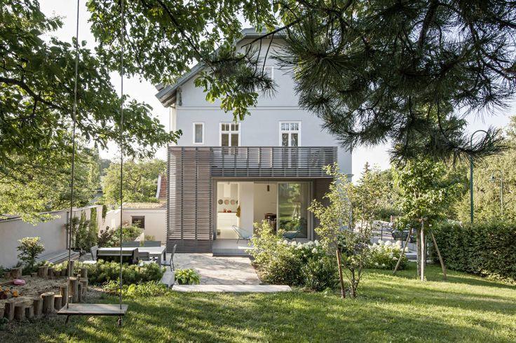 Sanierung Jugendstilvilla in Perchtoldsdorf : Klassische Häuser von illiz architektur Wien Zürich