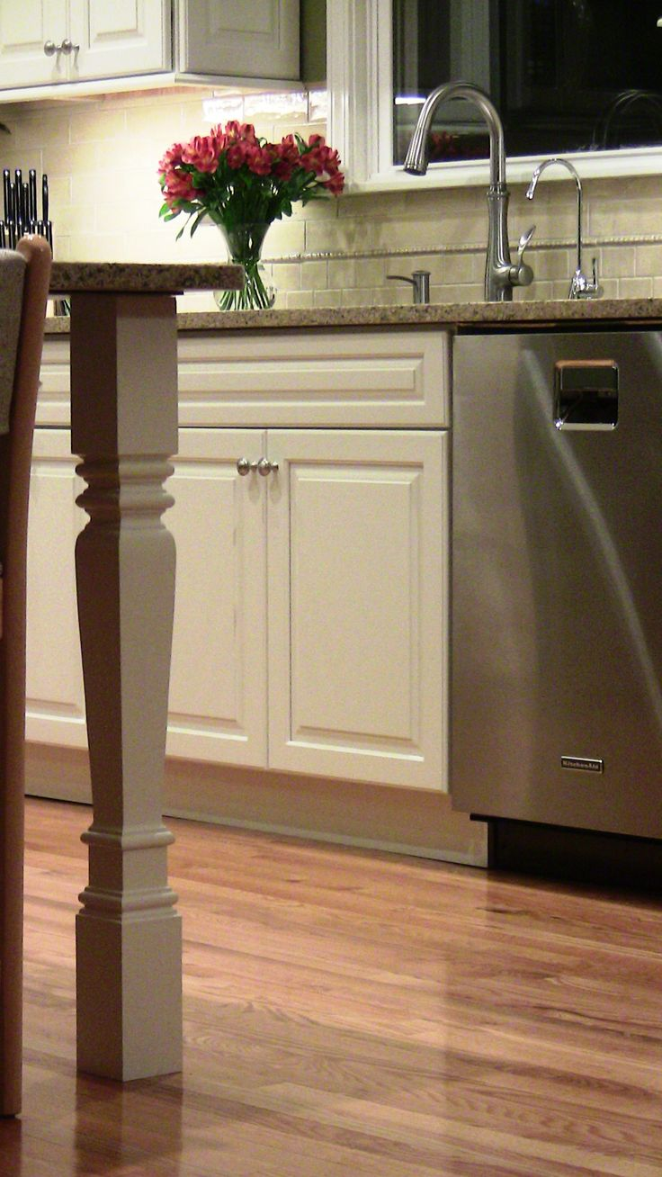 kitchen island legs home kitchen inspiration