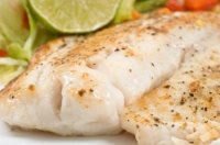 Clean Eating - Poached Orange Roughy - 118 Calories