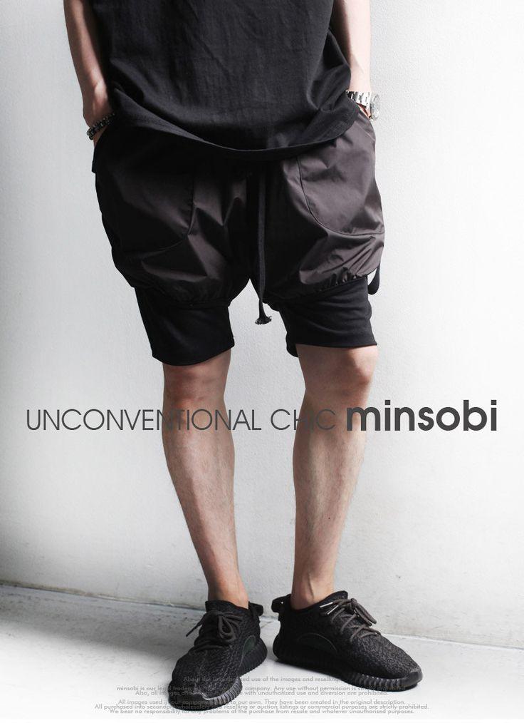 high-fashion Mens summer shorts - dare to be different :-)  #shorts #pants #halfpants #fashion #japan #moda #mode #Mens #menswear #mensfashion #Fashionista #black #gothic #ミンソビ #minsobi #ファッション