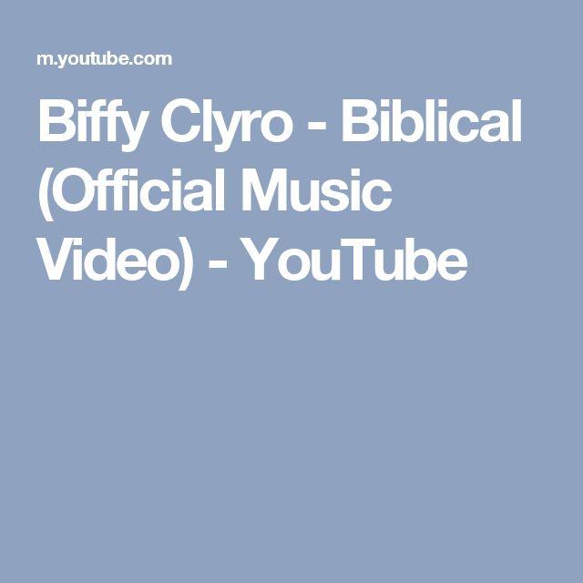 Biffy Clyro - Biblical (Official Music Video) - YouTube