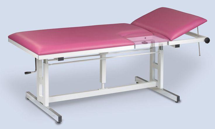 Table divan d'examen et de soin medical