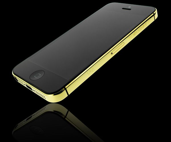 Golden Color apple iPhone 5