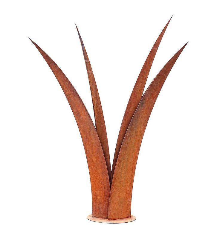 Grass Blade Outdoor Metal Garden Sculpture $2850.00