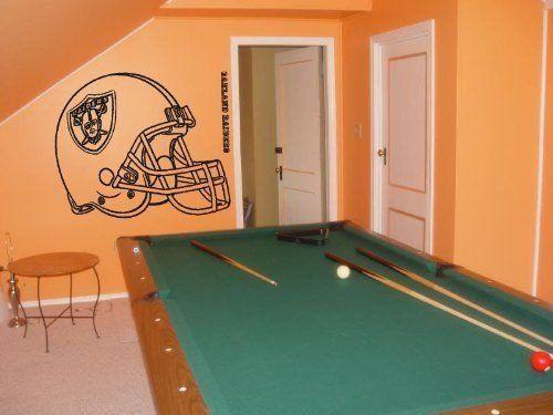 Wall Decal NFL Oakland Raiders 004 FRST – Stickalzllc
