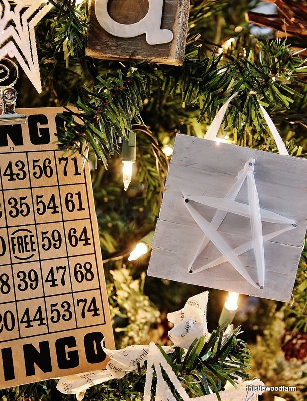 #Star Ornament Tree #Navidad #DIY tutorial