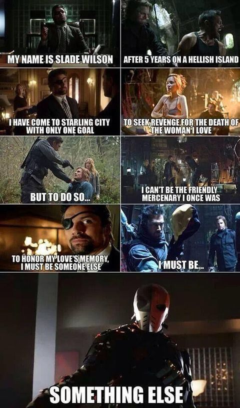 """arrow tv show memes 