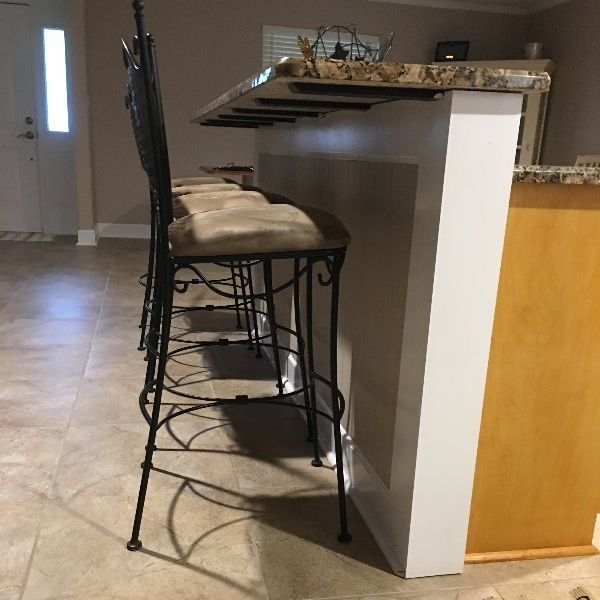 90 best countertop support brackets images on pinterest for Knee wall support