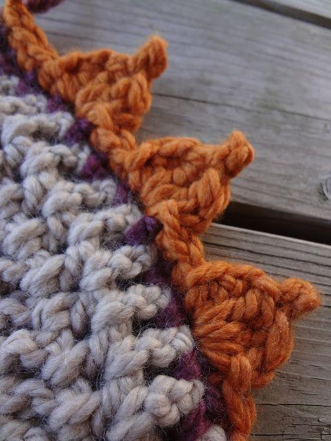 Fiber Flux...Adventures in Stitching: Free Crochet Pattern...Pumpkin Patch Edging!
