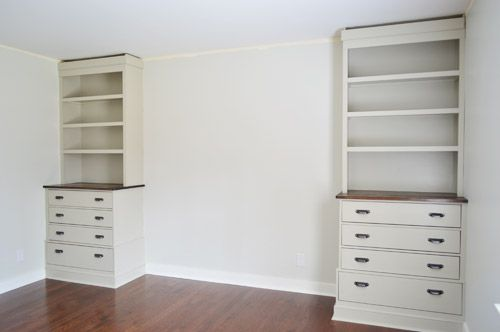 Installing Bedroom Built Ins Maybe One Day I Ll Try Making This Pinterest And Home