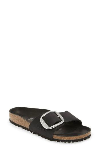 bbf614805ea Birkenstock Madrid Big Buckle Slide Sandal