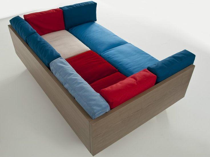 Upholstered Fabric Sofa OTTOMAN SOFA XL Ottoman Collection By Colé Italian  Design Label | Design Sezgin