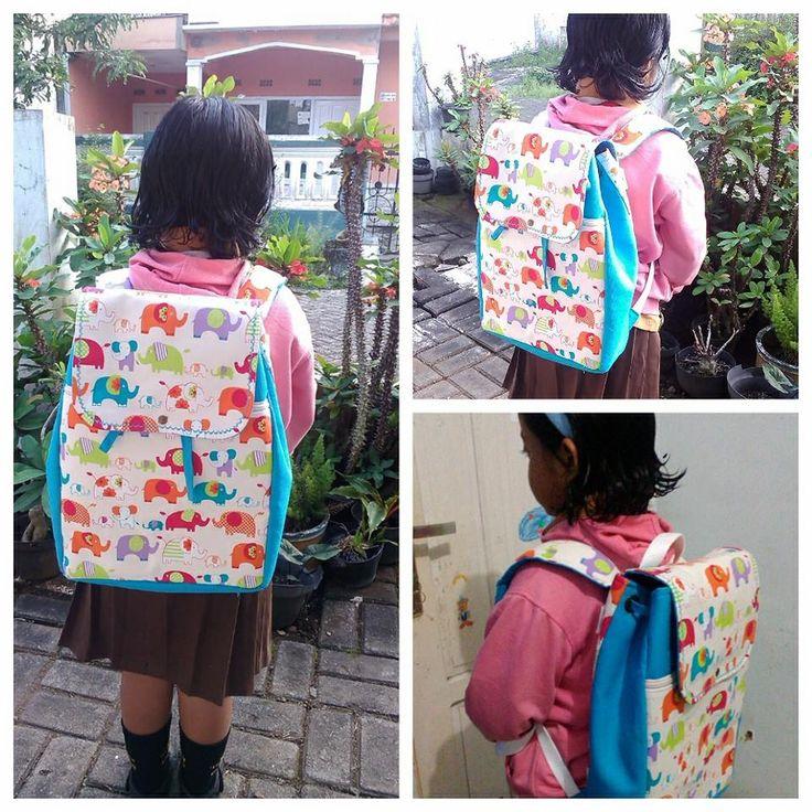 Again... Backpack tali serut for my princess..:)
