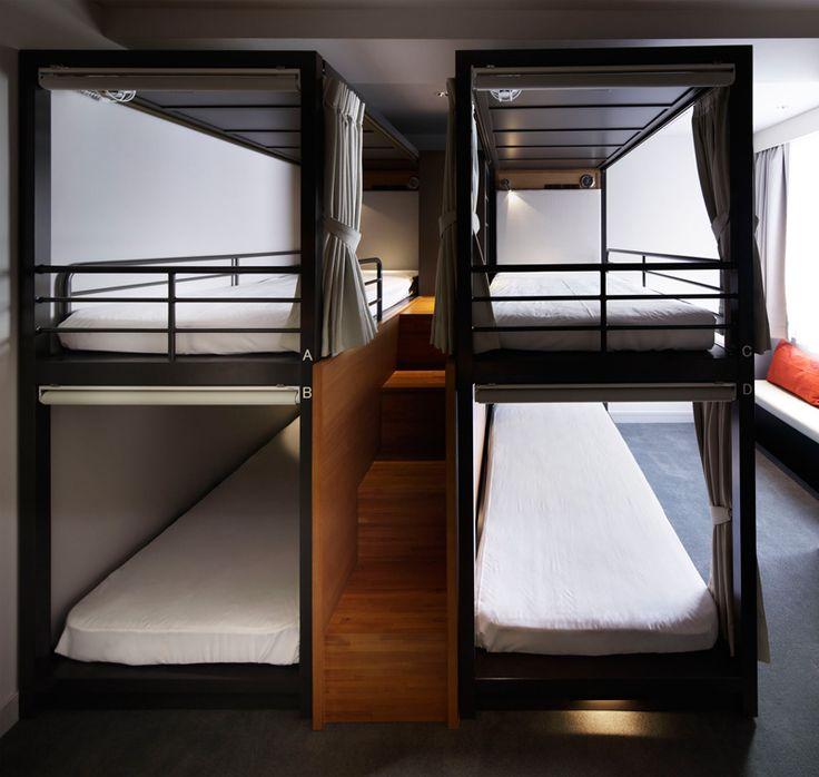 Travel // UDS Design The GRIDS Hostel In Tokyo