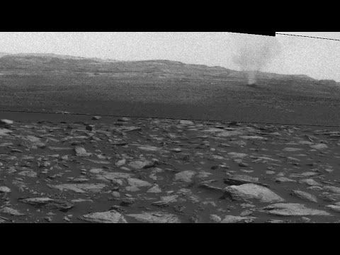 Curiosity Rover Captures Images Of Blowing Dust Devils On Planet Mars (Video) : Space : Science World Report