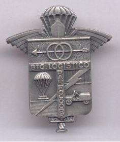 Distintivo del Battaglione Logistico Folgore