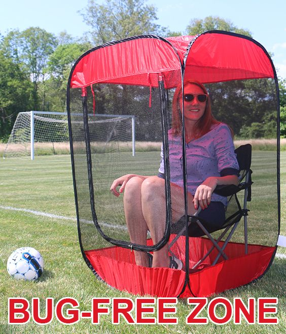 The Insect, Bug & Mosquito Pop-Up Screen Chair Tent that has gone viral is available in October, get yours first at Anthem Sports! http://www.anthem-sports.com/insect-bug-mosquito-pop-up-tent.html