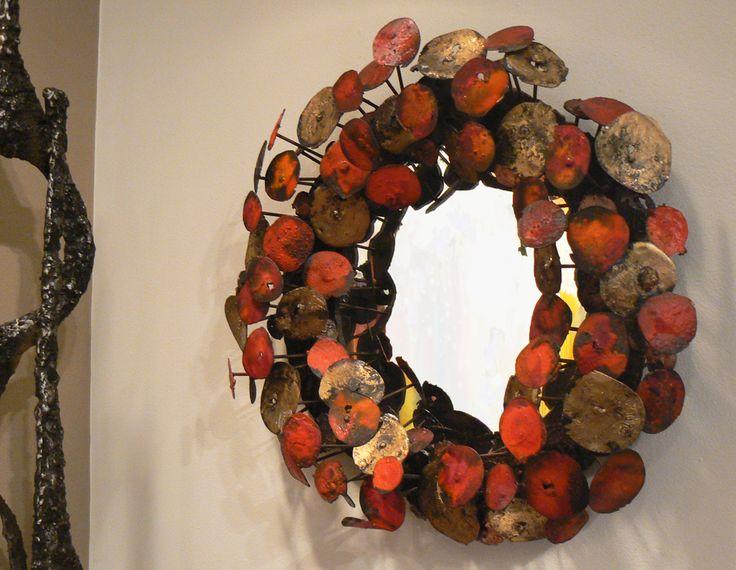 Metal Mirror Sculpture by James Bearden