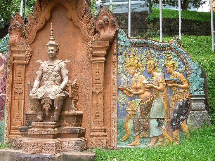 Sisophon, Battambang & Angkor Wat received by King Sisowath, 1907