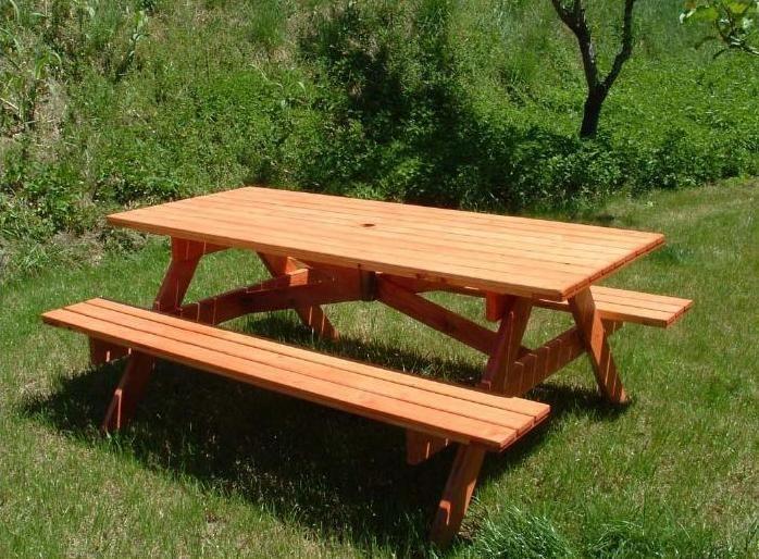 Tavolo Da Giardino Con Panche 8 + 2 posti HOLIDAY