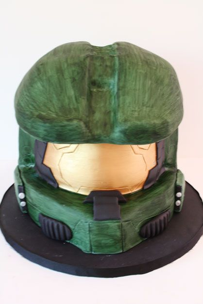 3D Grooms Cakes NJ - Halo Master Chief Helmet Custom Cakes ... can this be my cake instead of the groom haha