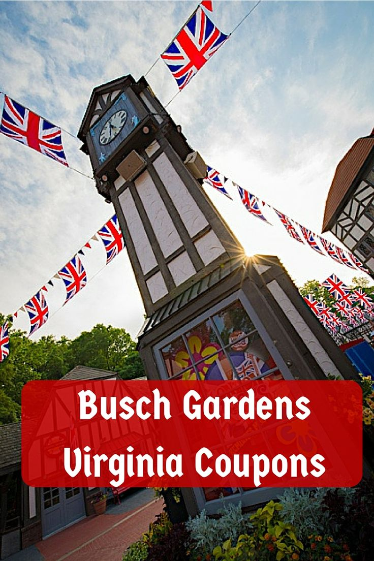 1000 ideas about busch gardens tickets on pinterest for Bush gardens tickets