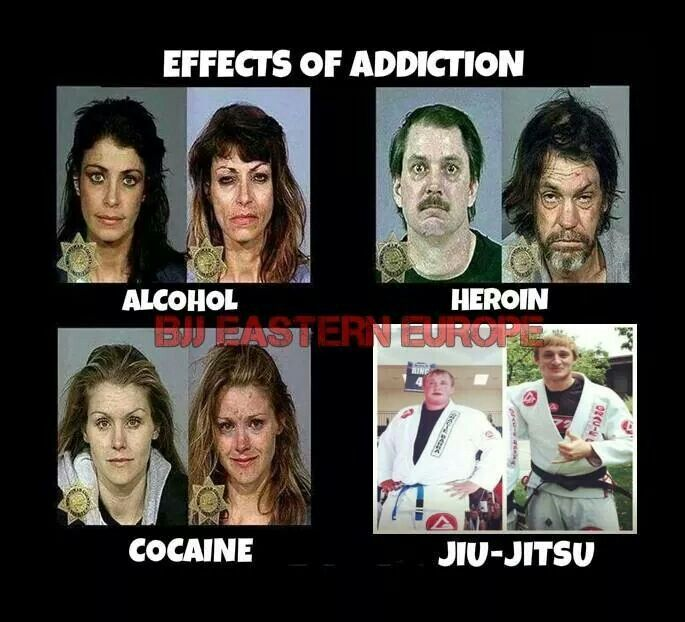 For a person who used drugs for so long, trust me when I say, jiu-jitsu saved my life.