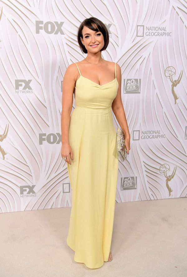 Milana Vayntrub at the 2017 Fox Emmys Afterparty #2017 #Party