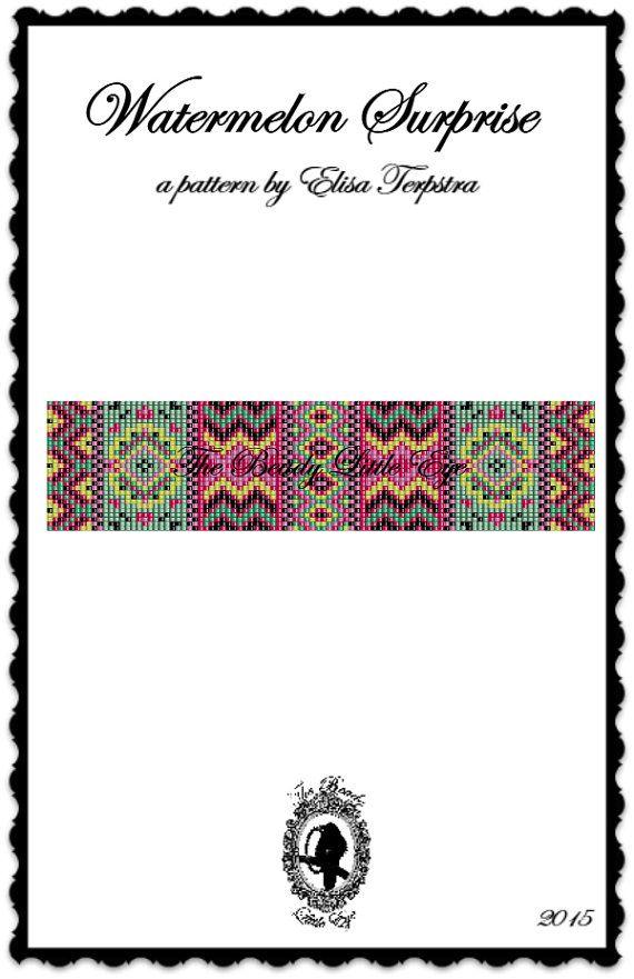 Bead Loom Pattern Seed Bead Loom Patterns par TheBeadyLittleEye