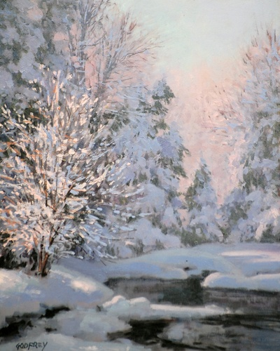Morning Snow, by Michael Godfrey