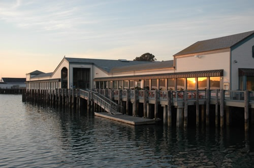 my most favorite restaurant - The Tides, Bodega Bay, California