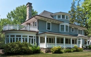 shingle style architecture | Pelham Shingle Style for a Modern Family traditional-exterior