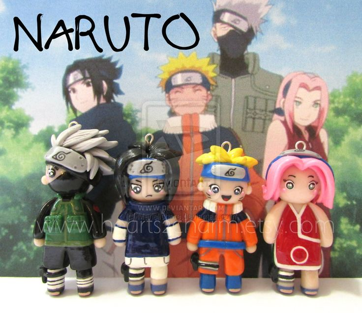 Chibi Charms: Naruto by Marielishere.deviantart.com on @deviantART