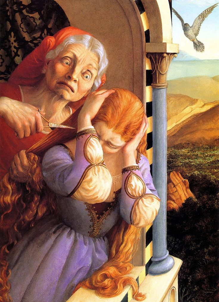 Paul O. Zelinsky | Rapunzel (Brothers Grimm)