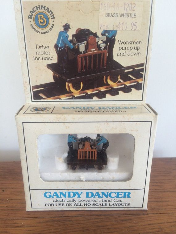HO Scale Train Layouts Bachmann Gandy Dancer by StoreFourandMore