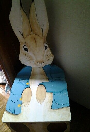 Custom made Peter Rabbit toy box