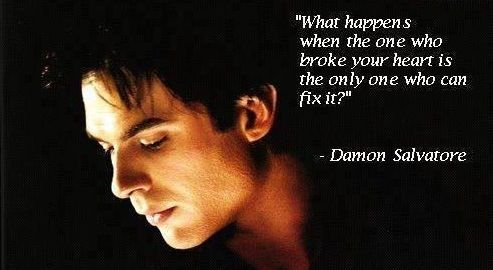 Damon Salvatore quotes. The vampire diaries
