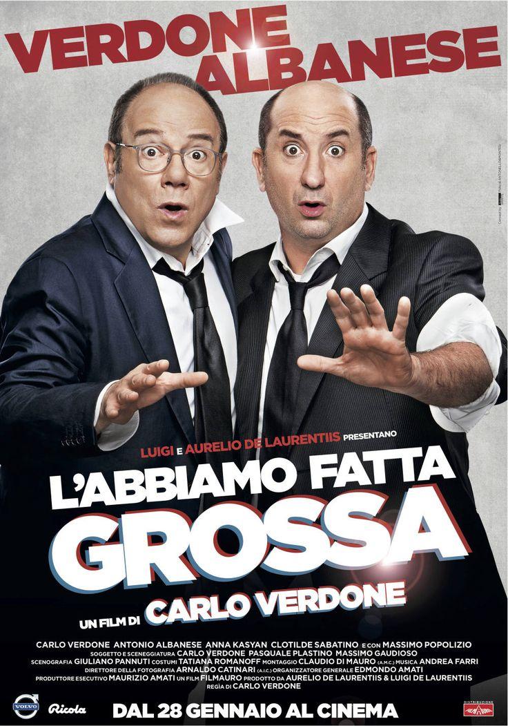 iL'abbiamo fatta grossa, il film con Carlo Verdone e Antonio Albanese, dal 28 gennaio al cinema.