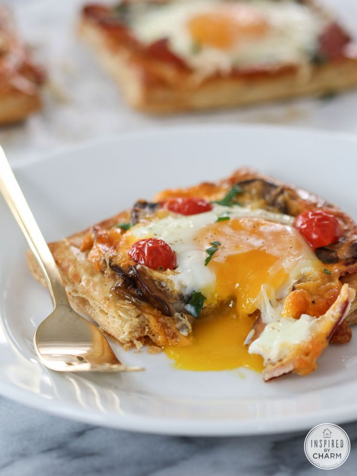 Breakfast Pies - add any fillings you like! These are surprisingly easy to put together.