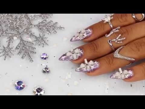 3D Nail Art | Snowflake Nail Art Purple Tutorial | Makeup Tutorial Video... See More Here : http://goo.gl/jDA1dc  Follow the instructions, This step-by-step video guide will show you EXACTLY how to get started...  Hope Your Enjoy! ..... Like, Share, Comment & Subscribe Us!  More Makeup Tutorial videos ... Click Here: https://www.youtube.com/channel/UC3SbRN6zFEgCdnKHZj28B4w #nailart #nailarttutorial #nailarttutorialvideo