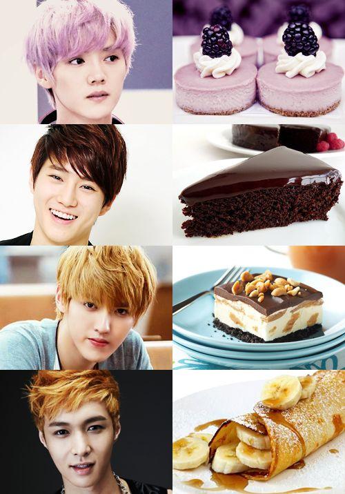 Exo as desserts.