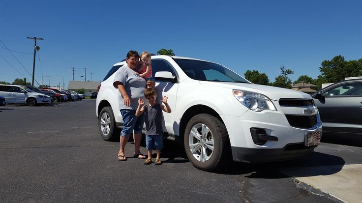 Darrin and Darrin's new 2011 Chevy Equinox! Congratulations and best wishes from Jay Hatfield Chevrolet and Brian Wellmeier.