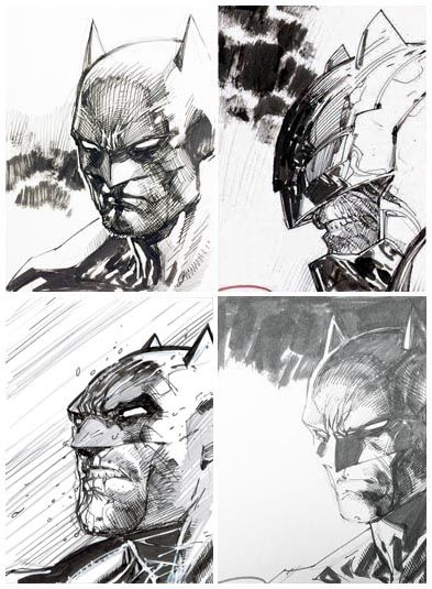 Super Rare: Dark Knight III 1:5000 Sketches Click the pic and find out more...